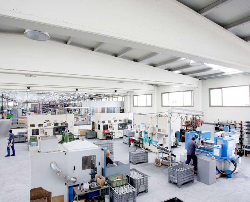 مراكز الإنتاج